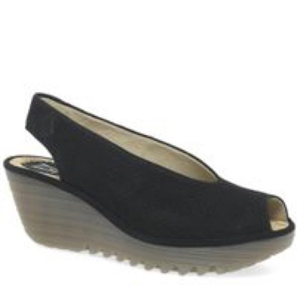 3100ae67 Fly London Shoes - 41 Fly London Yazu Black GUC